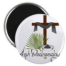 Ash Wednesday Magnet