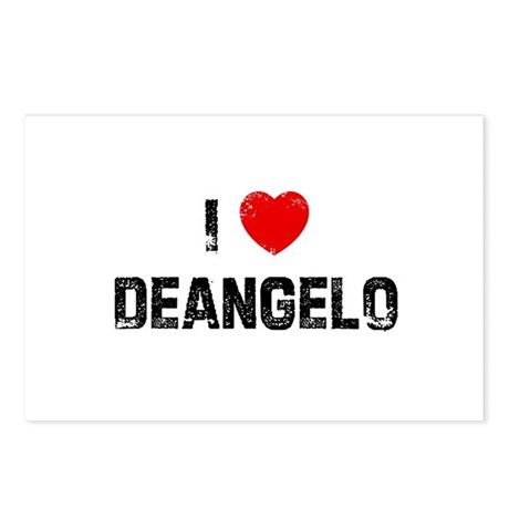 I * Deangelo Postcards (Package of 8)