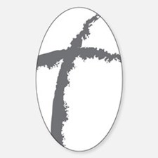 Contemporary Cross Decal