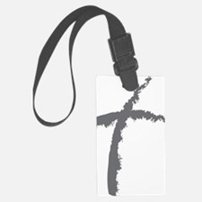 Contemporary Cross Luggage Tag