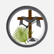 Forgiveness Cross Wall Clock