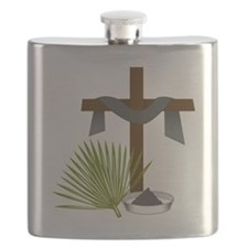 Forgiveness Cross Flask