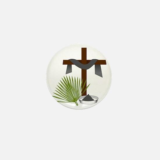 Forgiveness Cross Mini Button