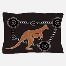 Aboriginal Kangaroo Pillow Case