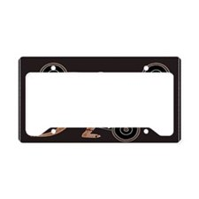 Aboriginal Kangaroo License Plate Holder