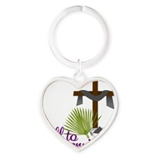 Call To Conversion Heart Keychain