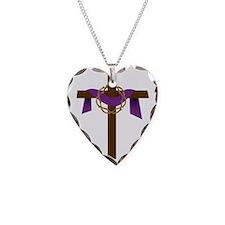 Season Of Lent Cross Necklace