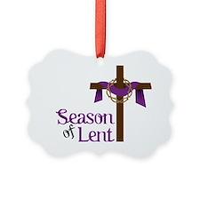 Season Of Lent Ornament