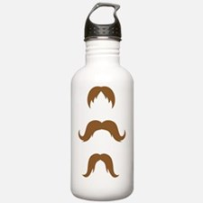 Mustaches Water Bottle