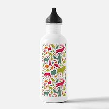 forestfriendspattern2  Water Bottle