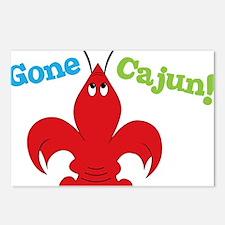 Gone Cajun Postcards (Package of 8)