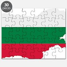 Bulgaria map flag Puzzle