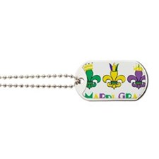 Mardi Gras Royalty Party New Orleans Dog Tags