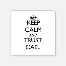 Keep Calm and TRUST Cael Sticker