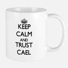 Keep Calm and TRUST Cael Mugs