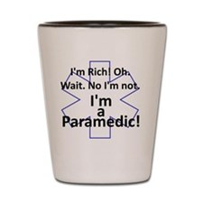 Rich Paramedic Shot Glass