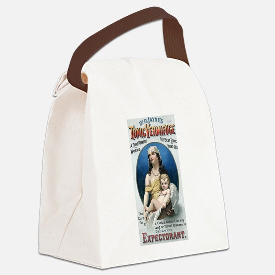 Vermifuge_advertisement_1889 Canvas Lunch Bag