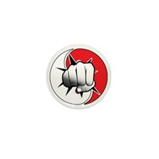 Martial Arts Mini Button