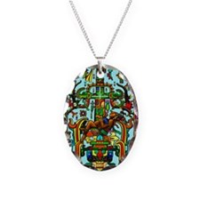 King Pakal Mayan ruler Necklace
