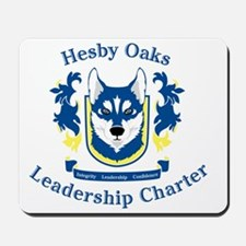 Hesby Oaks Formal Logo Mousepad