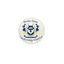 Hesby Oaks Formal Logo Mini Button