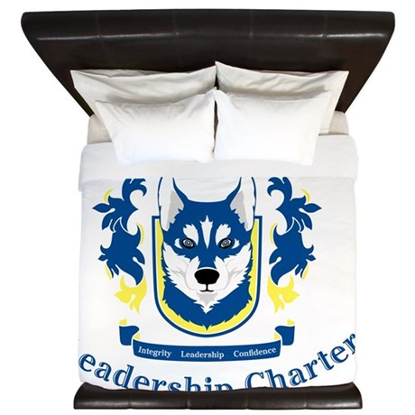 Hesby Oaks Formal Logo King Duvet