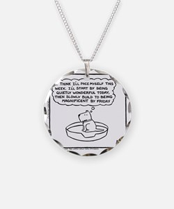 Quietly Wonderful (Good Morn Necklace