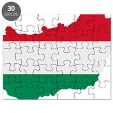 Hungary map flag Puzzle