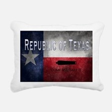 Republic of Texas Rectangular Canvas Pillow