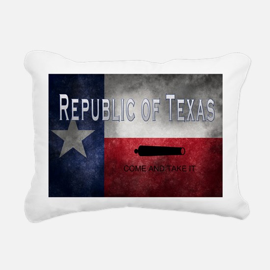 Republic of Texas Rectangular Canvas Pillow