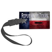 Republic of Texas Luggage Tag