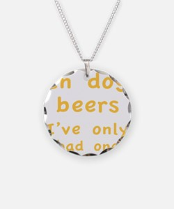 dogBeers1C Necklace