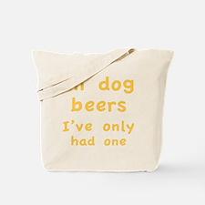 dogBeers1C Tote Bag