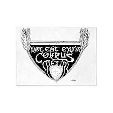 Hoc Est Enim Corpus Meum 5'x7'Area Rug