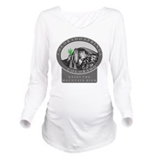 mj36dark Long Sleeve Maternity T-Shirt