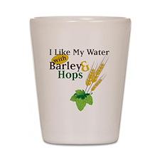 I Like My Water Shot Glass