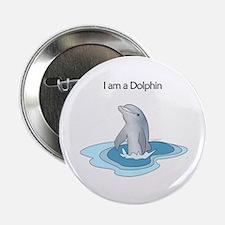 "I am a Dolphin 2.25"" Button"