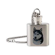 huskylg Flask Necklace