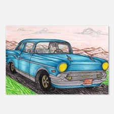 57' Chevy Belair Original Postcards (Package of 8)