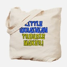 Little Ukrainian Trouble Maker Tote Bag