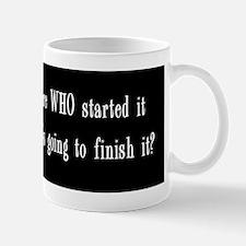 I dont care who bprstr Mug