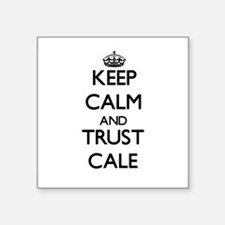 Keep Calm and TRUST Cale Sticker