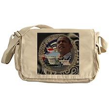 Obama Re-elected Messenger Bag