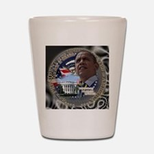 Obama Re-elected Shot Glass