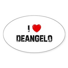 I * Deangelo Oval Decal