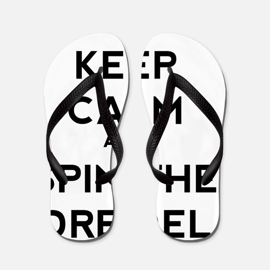 Keep Calm and Spin the Dreidel Flip Flops