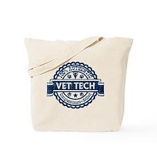 100% Authentic Vet Tech (Blue) Tote Bag