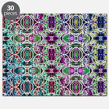 Rainbow Fractal Art Pattern Puzzle