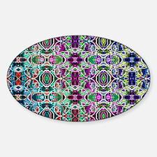 Rainbow Fractal Art Pattern Decal