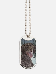Ceramic Ornament Dog Tags